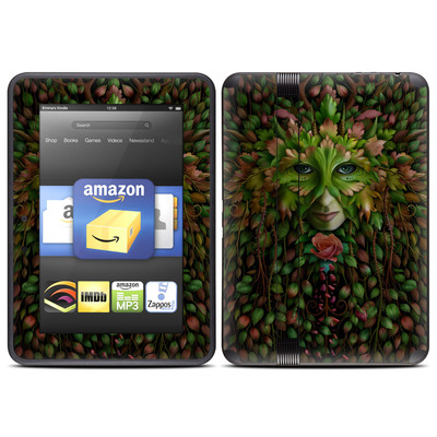 Amazon Kindle Fire HD (2012) Skin - Green Woman