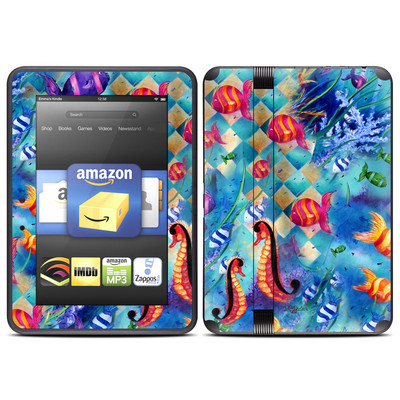 Amazon Kindle Fire HD (2012) Skin - Harlequin Seascape