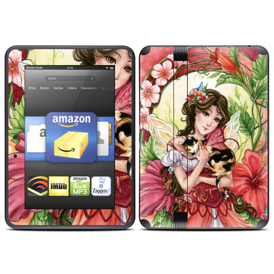 Amazon Kindle Fire HD (2012) Skin - Hibiscus Fairy