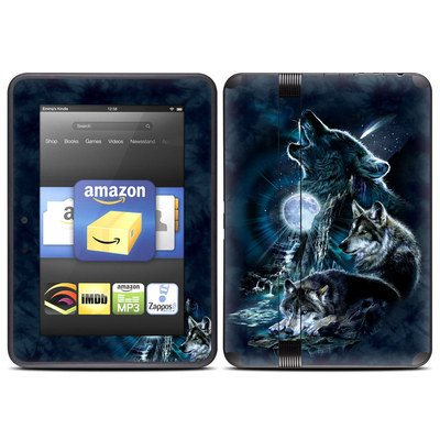 Amazon Kindle Fire HD (2012) Skin - Howling