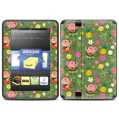 Amazon Kindle Fire HD (2012) Skin - Hula Monkeys