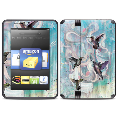 Amazon Kindle Fire HD (2012) Skin - Hummingbirds