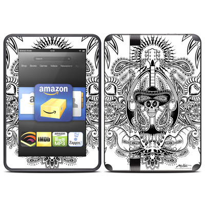 Amazon Kindle Fire HD (2012) Skin - Isla De Los Muertos
