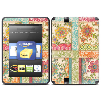 Amazon Kindle Fire HD (2012) Skin - Ikat Floral