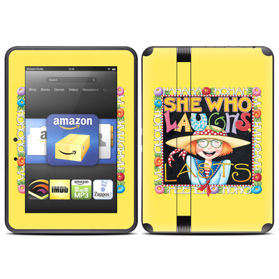 Amazon Kindle Fire HD (2012) Skin - She Who Laughs