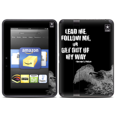 Amazon Kindle Fire HD (2012) Skin - Lead Me