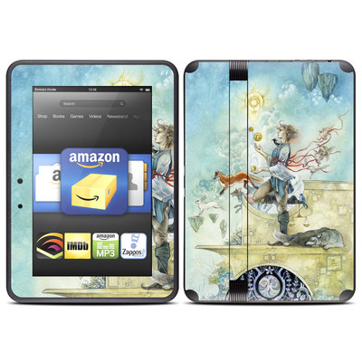 Amazon Kindle Fire HD (2012) Skin - Libra