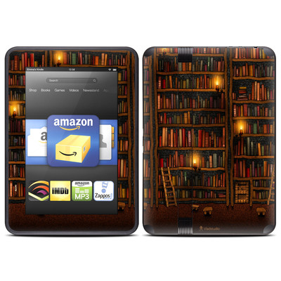 Amazon Kindle Fire HD (2012) Skin - Library