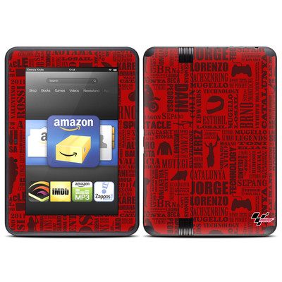 Amazon Kindle Fire HD (2012) Skin - Life of MotoGP