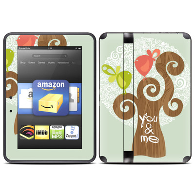 Amazon Kindle Fire HD (2012) Skin - Two Little Birds