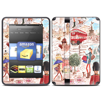 Amazon Kindle Fire HD (2012) Skin - London