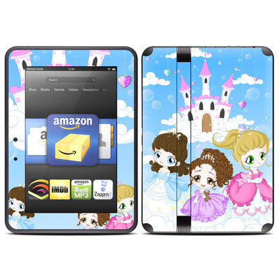 Amazon Kindle Fire HD (2012) Skin - Little Princesses