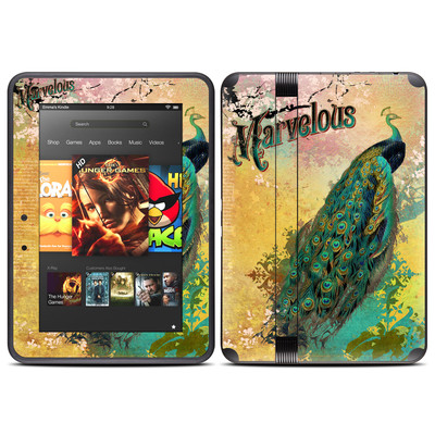 Amazon Kindle Fire HD (2012) Skin - Marvelous