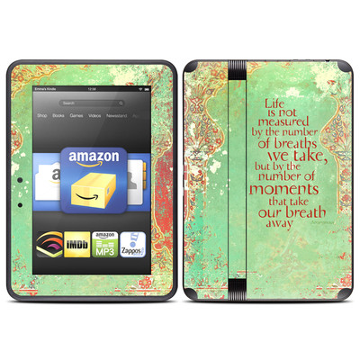 Amazon Kindle Fire HD (2012) Skin - Measured