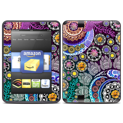 Amazon Kindle Fire HD (2012) Skin - Mehndi Garden