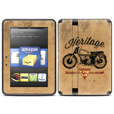 Amazon Kindle Fire HD (2012) Skin - MotoGP Heritage