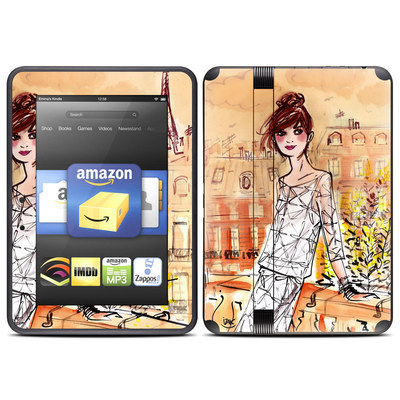 Amazon Kindle Fire HD (2012) Skin - Mimosa Girl