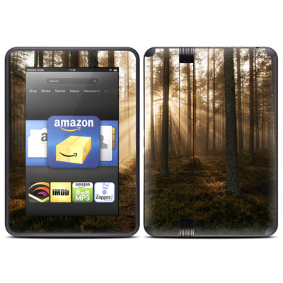 Amazon Kindle Fire HD (2012) Skin - Misty Trail