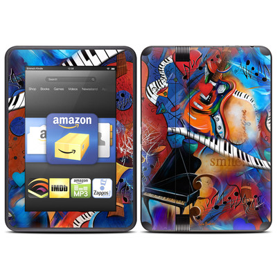 Amazon Kindle Fire HD (2012) Skin - Music Madness