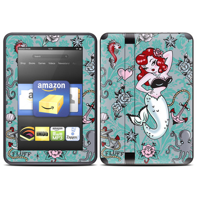Amazon Kindle Fire HD (2012) Skin - Molly Mermaid