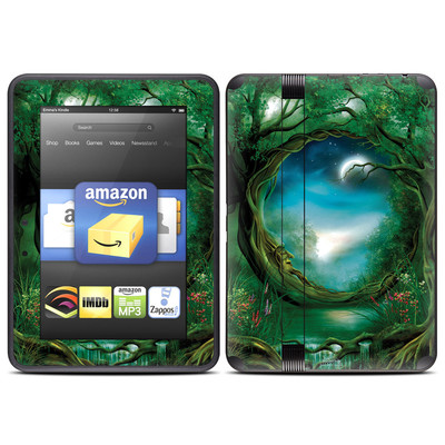 Amazon Kindle Fire HD (2012) Skin - Moon Tree
