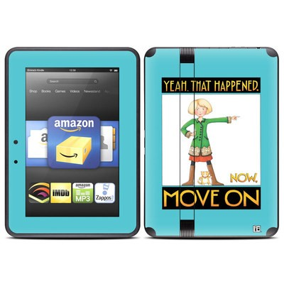 Amazon Kindle Fire HD (2012) Skin - Move On