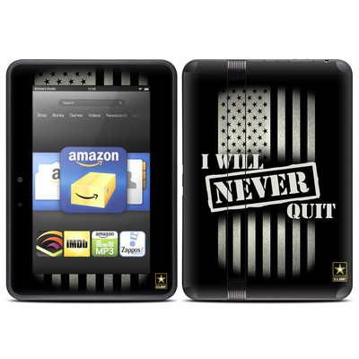 Amazon Kindle Fire HD (2012) Skin - Never Quit