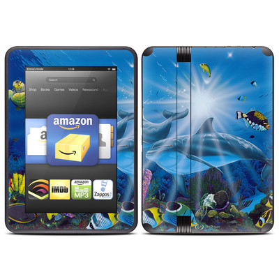 Amazon Kindle Fire HD (2012) Skin - Ocean Friends