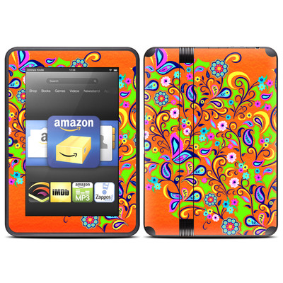 Amazon Kindle Fire HD (2012) Skin - Orange Squirt