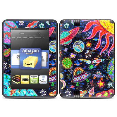 Amazon Kindle Fire HD (2012) Skin - Out to Space