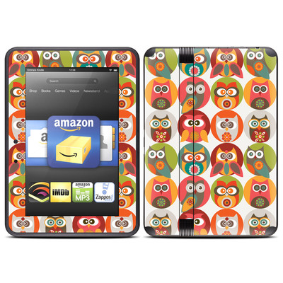 Amazon Kindle Fire HD (2012) Skin - Owls Family