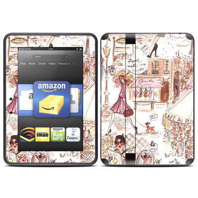Amazon Kindle Fire HD (2012) Skin - Paris Makes Me Happy