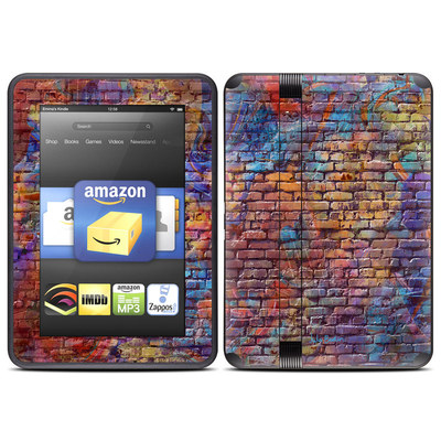 Amazon Kindle Fire HD (2012) Skin - Painted Brick