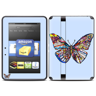 Amazon Kindle Fire HD (2012) Skin - Pieced Butterfly
