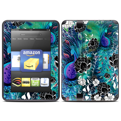 Amazon Kindle Fire HD (2012) Skin - Peacock Garden