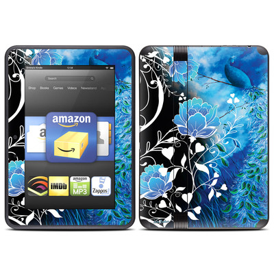 Amazon Kindle Fire HD (2012) Skin - Peacock Sky