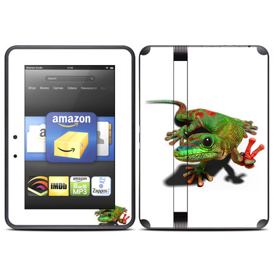 Amazon Kindle Fire HD (2012) Skin - Peace Gecko