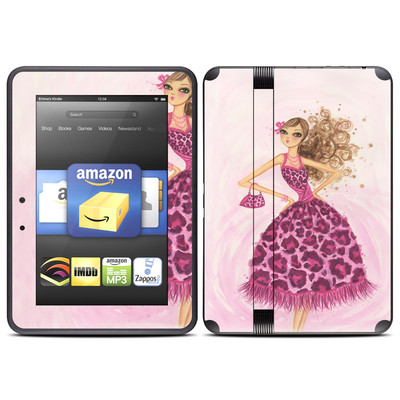 Amazon Kindle Fire HD (2012) Skin - Perfectly Pink