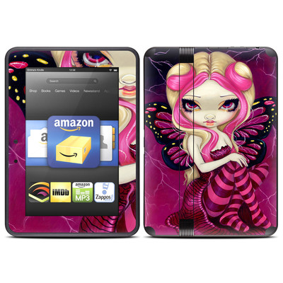 Amazon Kindle Fire HD (2012) Skin - Pink Lightning