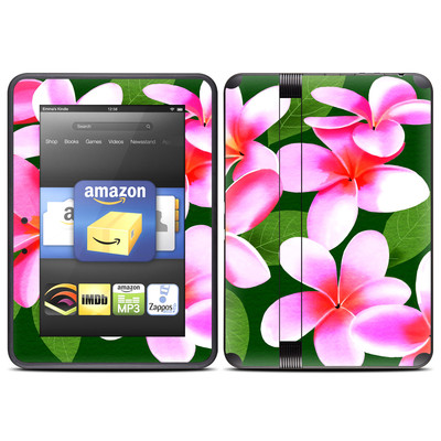 Amazon Kindle Fire HD (2012) Skin - Pink Plumerias