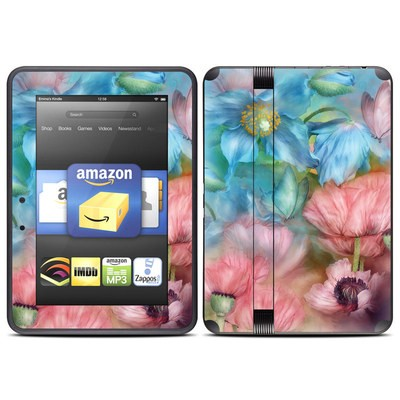 Amazon Kindle Fire HD (2012) Skin - Poppy Garden