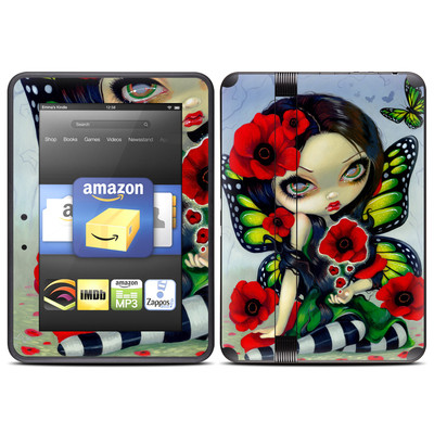 Amazon Kindle Fire HD (2012) Skin - Poppy Magic