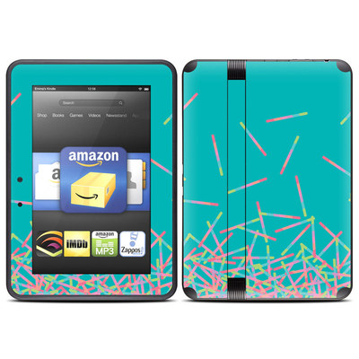 Amazon Kindle Fire HD (2012) Skin - Pop Rocks Wands