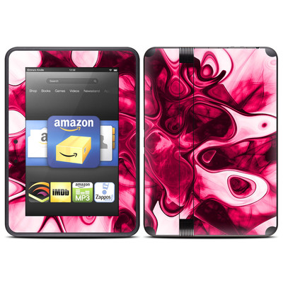 Amazon Kindle Fire HD (2012) Skin - Pink Splatter