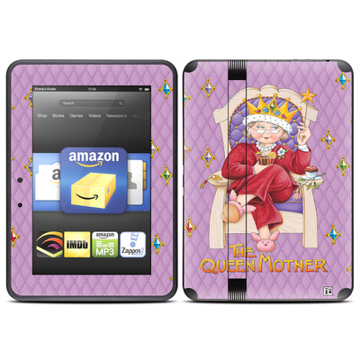 Amazon Kindle Fire HD (2012) Skin - Queen Mother