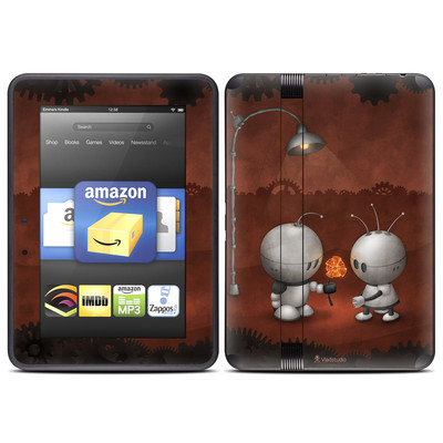 Amazon Kindle Fire HD (2012) Skin - Robots In Love