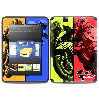 Amazon Kindle Fire HD (2012) Skin - Race Panels