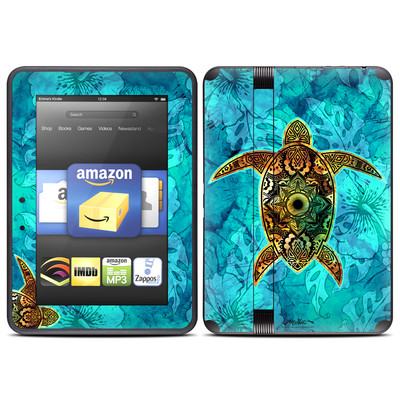 Amazon Kindle Fire HD (2012) Skin - Sacred Honu