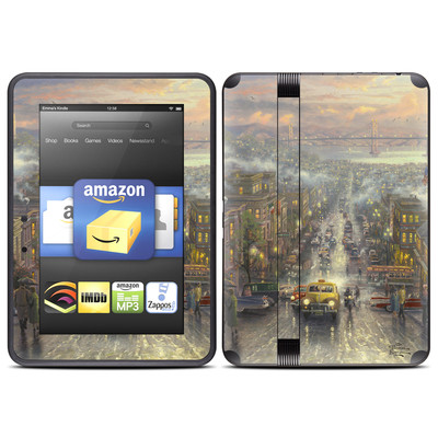 Amazon Kindle Fire HD (2012) Skin - Heart of San Francisco