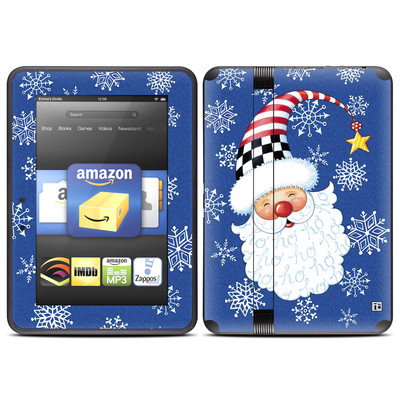 Amazon Kindle Fire HD (2012) Skin - Santa Snowflake